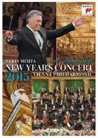 Cover Zubin Mehta / Vienna Philharmonic - New Year's Concert - Neujahrskonzert 2015 [DVD]